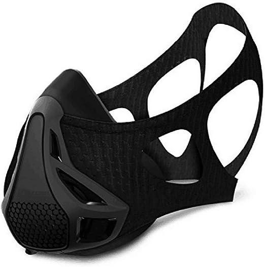 mascara de entrenamiento Deporte Ejercicios Entrenamiento Máscara - Para Running Ciclismo y Fitness con la alta altitud elevación Simulación
