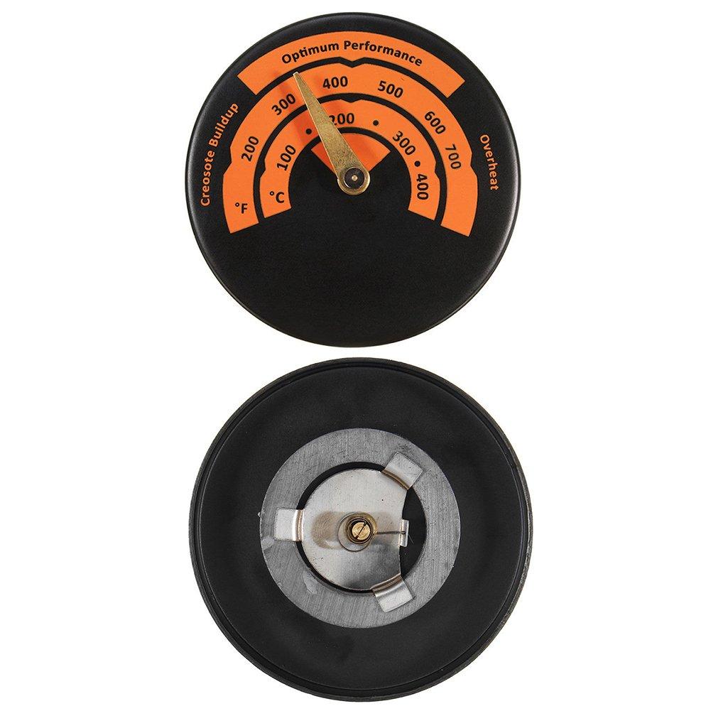 medidor de temperatura de aleaci/ón de aluminio Term/ómetro de horno de lectura instant/ánea term/ómetro de tubo de escape