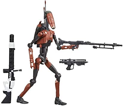Star Wars The Black Series Heavy BATTLE DROID EXCLUSIVE Army Builder exclusive.