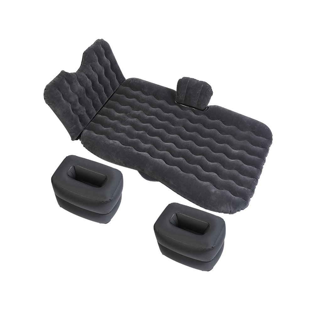 YZY 車の膨張ベッド キャンプ旅行のベッド カーマットレス 寝床 自走旅行 カーショックベッド (色 : Black) B07FYJHPVB  Black