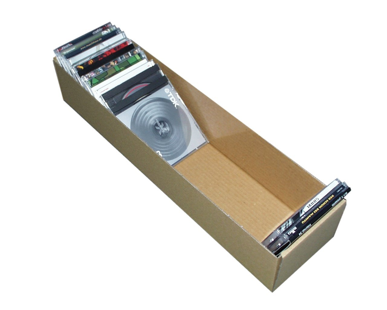 CD Chute Tray for 50 CDs Protected Set of 10