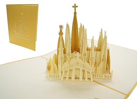 Carte Barcelone Place Despagne.Lin 17392 Cartes 3d Pop Up Carte D Anniversaire 3d Pop Up Carte