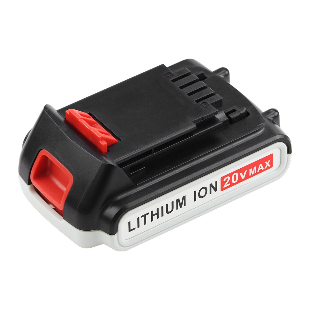 Replace for Black and Decker 20V Battery Lithium-Ion Max 2000mah LBXR20 LST220 LB20 LBX20 LBXR2020-OPE Cordless Tool Battery SUN POWER