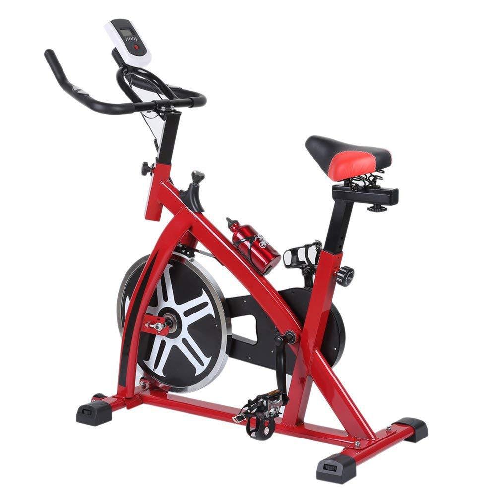 Binghotfire Profi Indoor Cycle SP6901 mit Smartphone App 8KG Schwungrad,Armauflage,Pulsgurt kompatibel-Speedbike mit flüsterleisem Riemenantrieb-Fahrrad Ergometer bis 120KG