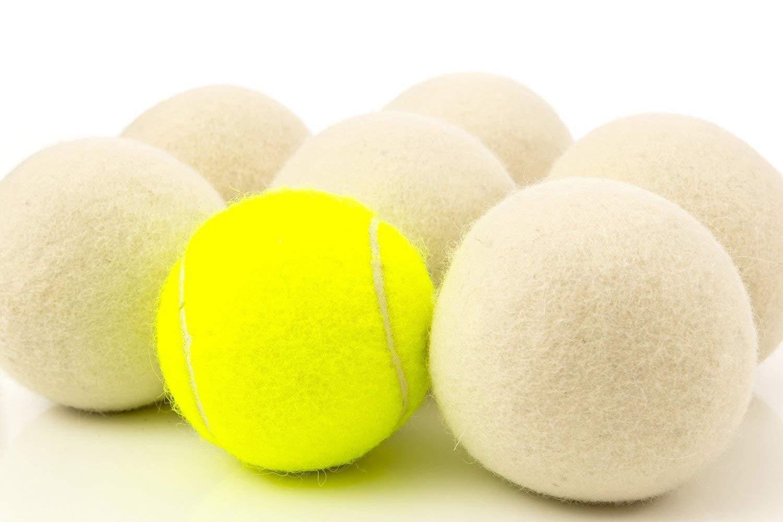 Dryer Balls Laundry Wrinkle Fabric Balls for Dryer Natural Dryer Softener Oil Dryer for Home Gift Set (6 PACK -2.9'') by LTLKY (Image #9)