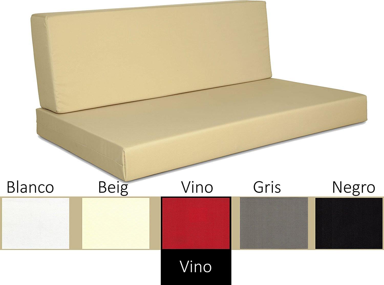 Sofa chill out (asiento + respaldo)  con tejido hidrofugo ...