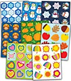 Carson-Dellosa Seasonal Shape Sticker Set