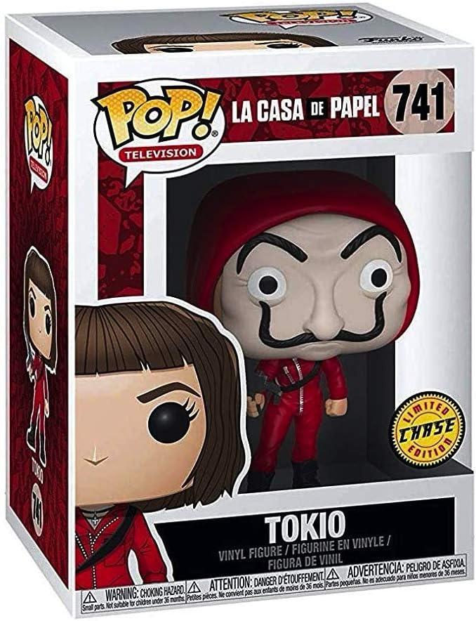 Funko Pop Television: La Casa de Papel - Tokio Chase Limited Edition #34488: Amazon.es: Juguetes y juegos
