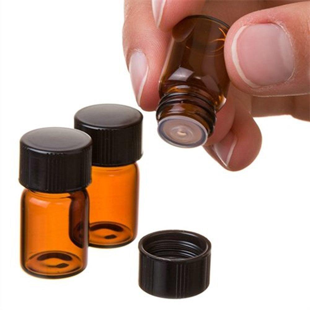 史上一番安い 2 Bottle 2 mlボトルガラスEssential Oil B01LN9PMB8 Bottle withオリフィスレジューサとキャップブラウン12個 B01LN9PMB8, 三川村:08b3b854 --- egreensolutions.ca