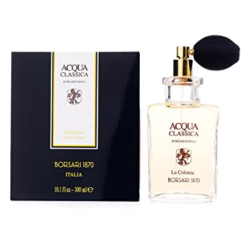 Acqua Classica By Borsari Di Parma Eau-de-cologne Spray, 3.38-Ounce