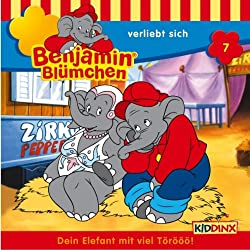 Benjamin verliebt sich (Benjamin Blümchen 7)