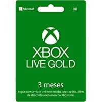 Microsoft Xbox Live Gold - 3 Meses