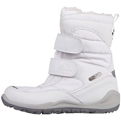 05f6f299f6a Kappa Unisex Kids' Tundra Tex Combat Boots, Weiß (1010 white), 13 UK ...