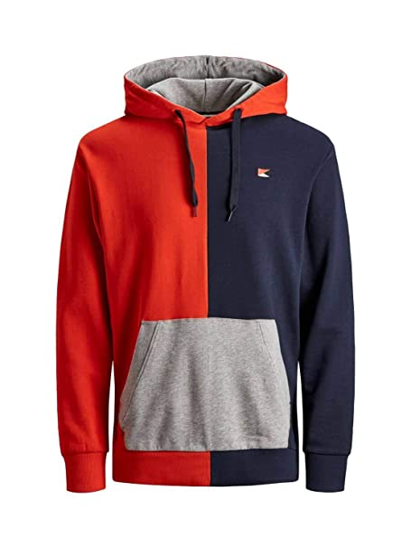 Sudadera Jack and Jones Sweat Colourblock Nino: Amazon.es: Ropa y accesorios