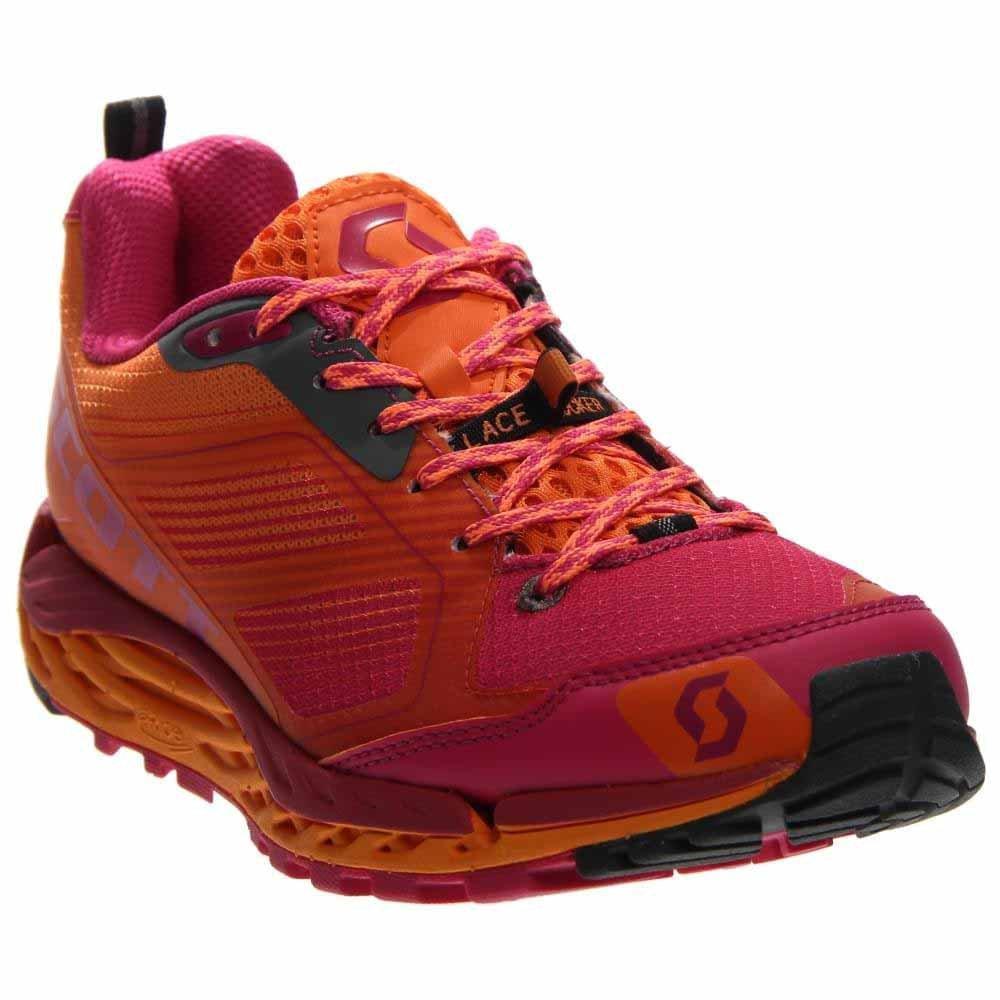 スコット2016レディースt2 Kinabalu 3.0 Trail Running Shoes – ブルー/グリーン – 242019 B01C3FZZ5Y 9.5 B(M) US|ピンク/オレンジ ピンク/オレンジ 9.5 B(M) US