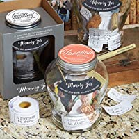 Top Shelf Feel Good Memory Jar Personalized Keepsakes For Friends And Family Unique Gift Ideas For Birthdays And Christmas Kit Comes With 180 Tickets And Decorative Lid Vacation Amazon Sg Home