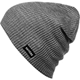 NIXON Compass Beanie Charcoal Heather One Size