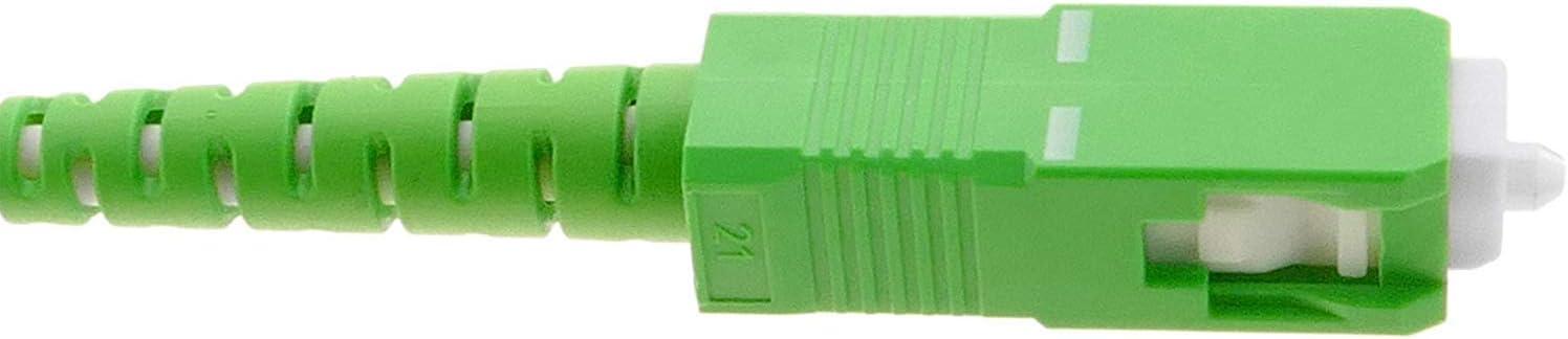 SFR La Box Fibre et Bouygues Telecom Bbox jarreti/ère Optique Compatible avec Orange Livebox SC//APC /á SC//APC Monomode 20M Eflcam C/âble /à Fibre Optique