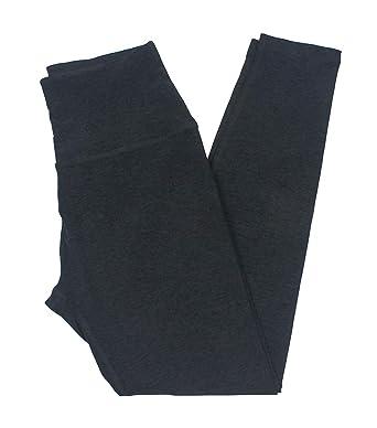 e9fb5b65aa1349 Beyond Yoga Women's Spacedye High-Waist Midi Leggings Darkest Night X-Large  25