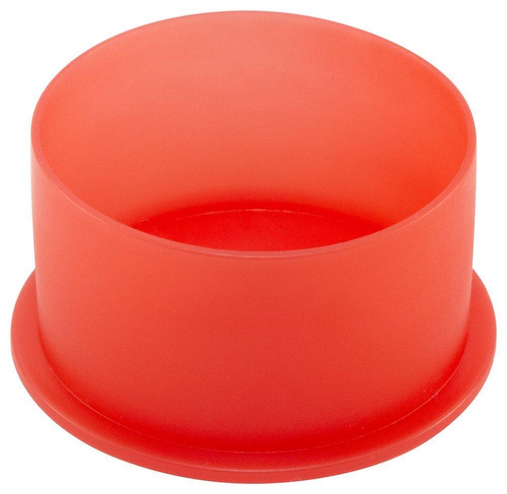 Caplugs QPN12Q1 Plastic Push-On NPT Cap To cap thread size 3/4'' PN-12, PE-LD, To Cap Thread Size 3/4'', Red (Pack of 700)
