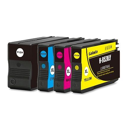 Galada 952 x l cartuchos de tinta compatibles para HP OfficeJet ...
