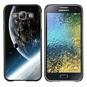 EJOOY---Cubierta de la caja de protección para la piel dura ** Samsung Galaxy E5 E500 ** --Espacio Planet Galaxy Estrellas 33