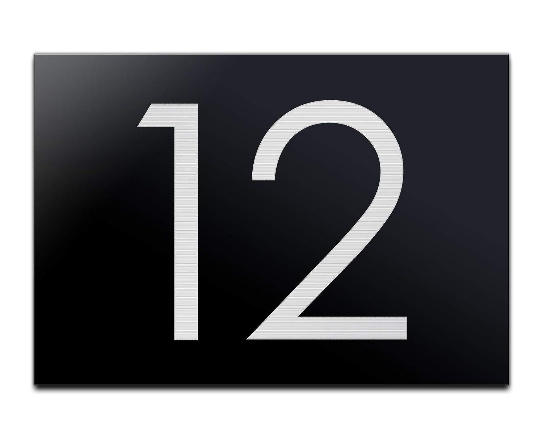 número de casa con grabado/de cifras de acrílico de ...