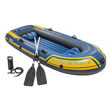 Intex 68370NP - Barca Hinchable Challenger 3 con Remos 295 x 137 x ...