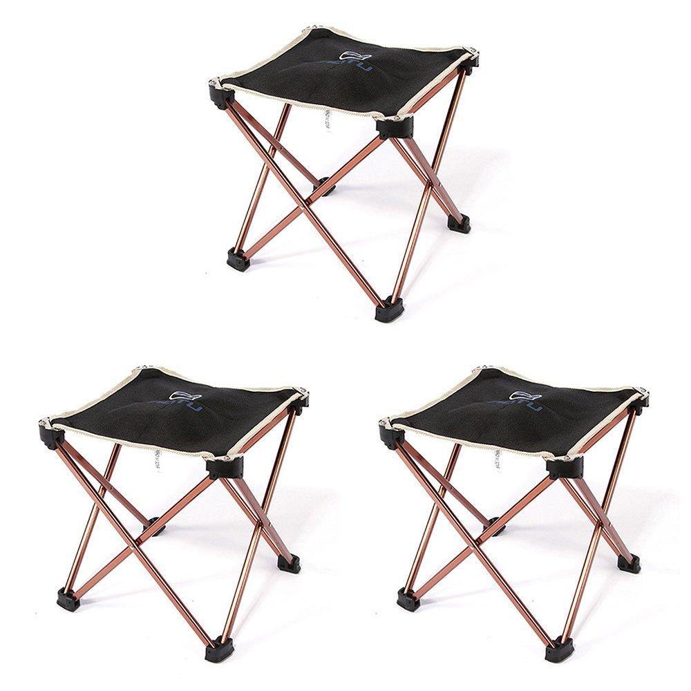 ZHAGOO Leichte Außen Aluminiumlegierung Angeln Stuhl Tragbare Klappstuhl Outdoor Camping Grill Klappstuhl.