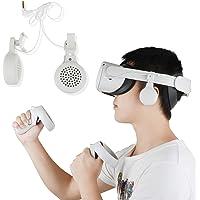 Esimen Gaming Headset for Oculus Quest 2 Elite Strap Headphones- High Fidelity- Custom-length Cable - Rotate 360 degrees…