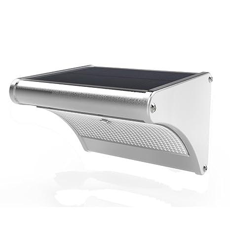 bingomall Super brillante 24 LED Solar Luz, microondas Radar Sensor de movimiento, IP65 impermeable