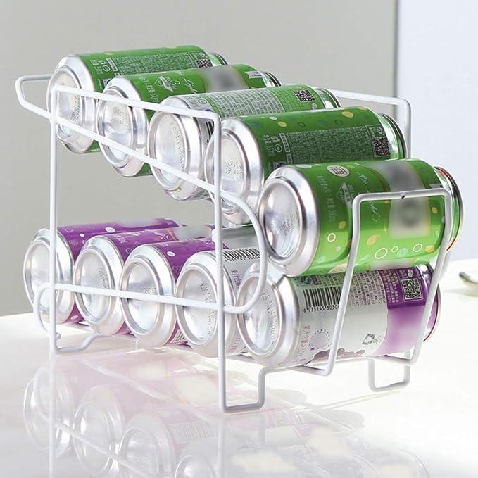 PinShang Soporte para latas de Cerveza, dispensador de refrescos ...
