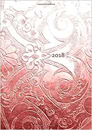 dicker tagebuch kalender 2018 bronze ornament din a4 1 tag pro seite edition. Black Bedroom Furniture Sets. Home Design Ideas