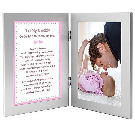 Amazon.com: Baby Girl regalo para Daddy juntos en su primer ...