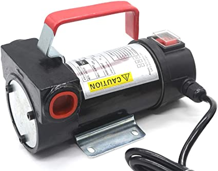 Ruilasago Bomba de Queroseno diésel de Aceite de 12 V CC 40 L/min ...