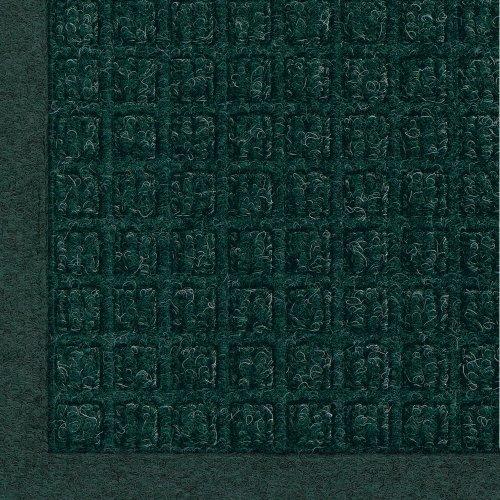 "Andersen 280 WaterHog Fashion Polypropylene Fiber Entrance Indoor/Outdoor Floor Mat, SBR Rubber Backing, 3' Length x 2' Width, 3/8"" Thick, Aquamarine"