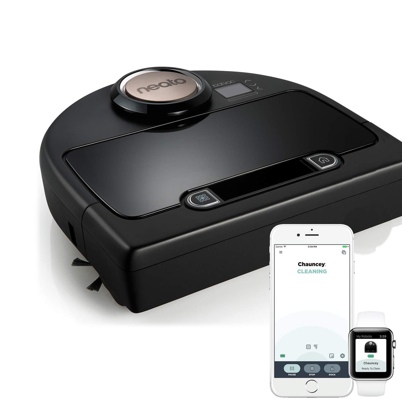 Acquisto Neato Robotics Botvac DC02 Connected – Robot aspirapolvere automatico cattura peli animali con mappatura laser e Wi-Fi – Alexa e Google Home Friendly Prezzo offerta