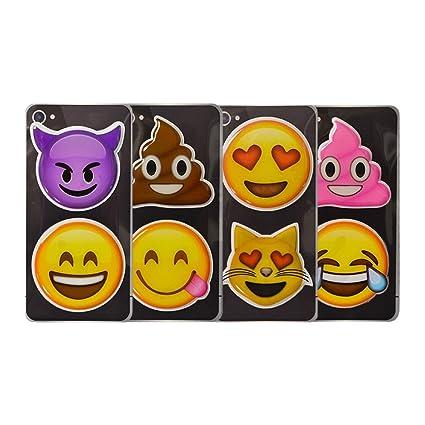 amazon com i em ji emoji puffy sticker set devil smile poo