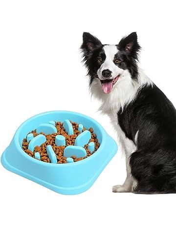 Belking Anti Tragando Tazón de Alimentación de Perro, Tazón de Alimentación Lenta de Perro,