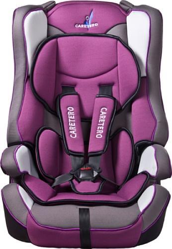 Caretero Vivo, Autositz gruppe 1/2/3 (9-36kg), rosa/violett