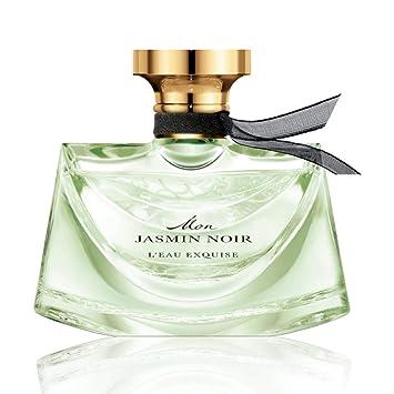 fa8edb279b0 Image Unavailable. Image not available for. Color  Bvlgari Mon Jasmin Noir  L eau Exquise Eau de Toilette ...
