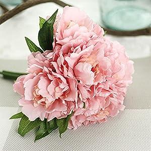YJYdada Artificial Fake Flowers Leaf Magnolia Floral Wedding Bouquet Party Home Decor 13
