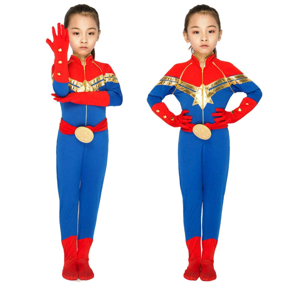 Captain Marvel Superhero Costume - Captain Marvel