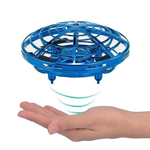KOBWA Mini Drones para niños UFO Drone Recargable Mini Quadcopter ...