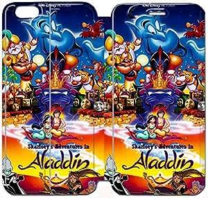 AADDIN y jazmín personalizado Flip la caja funda Para,iPhone 6 6S Plus 5.5 Inch funda , iPhone 6 6S Plus 5.5 Inch Case - KHOOOFOFO4459