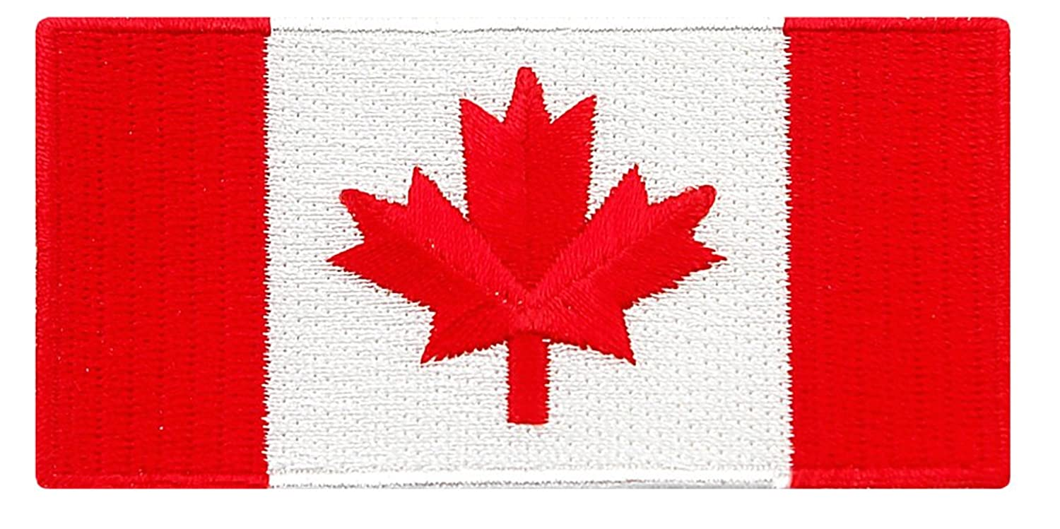 canada flag embroidered patch canadian maple leaf iron on national