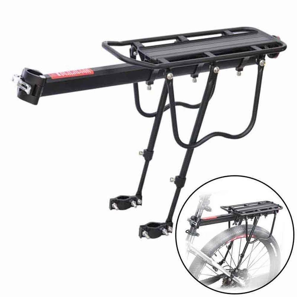 JU&MU Cool Bicycle Bike Rear Rack Quick Release Aluminum Alloy Frame Carrier Holder Mount in Bicycle Rack by JU&MU