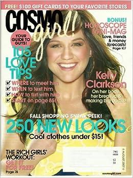 cosmo girl august 2007 kelly clarkson cosmo girl amazon com books