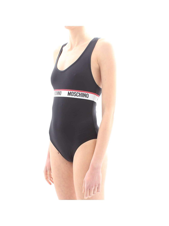 Moschino Body Underwear Colore Nero Elastico con Logo E19MO22