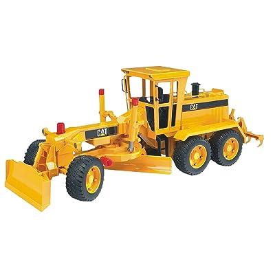 bruder 2436 - Motoniveladora Cat: Juguetes y juegos